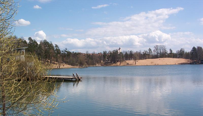 рыбалка на разливах в озерках